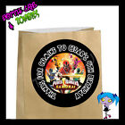 Power Rangers SAMURAI Birthday Party Favor Goody Bag STICKERS - Personalized