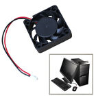 12V 40/50/80/120mm 2 Pin Mini Brushless Computer CPU Case Cooler Cooling Fan PC