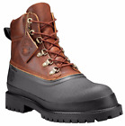 Timberland Mens Icon Rubber Toe Brown 6 Inch Premium Boots Duck A1LWL Retal $190