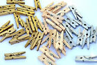 MINI Craft Wooden Pegs Paper Clothes Photo Spring Clips