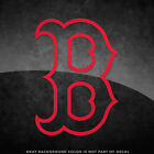 "Boston Red Sox B Logo Vinyl Decal Sticker - 4"" and Larger Sizes Available MLB"