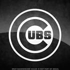 """Chicago Cubs Logo Vinyl Decal Sticker - 4"""" and Larger Sizes Available MLB on Ebay"""
