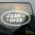 Game Over Funny Car Vinyl Decal Sticker Fit for Land Rover Range Discovery etc