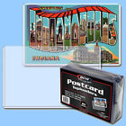 BCW: Rigid Toploaders: POSTCARD SIZE: 500ct: 20 Packs (25 per pack) / CASE-LOT