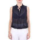 V 1969 Italia Womens Top CHICCA Damen  Top 100% POLYESTER