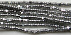 13/0 Charlotte Cut Beads Metallic Aluminium Silver 50 Grams FREE SHIPPING