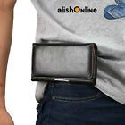 Universal Leather Pouch Belt Case Cover for Samsung Galaxy S3 S4 S5, Mini, S6 S7