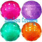 Kong Squeezz Crackle Ball Dog Puppy Fetch Toy Assorted Colors Medium Large XL