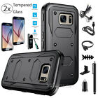 Armor Shockproof Rubber Phone Hard Case Cover For Samsung Galaxy S6 Edge Plus