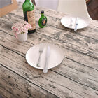 12 Size Vintage Wood Bark Cotton Linen Tablecloth Dining Table Cloth Cover Decor