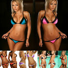 Fashion Women Push-up Padded Bra Lace Bikini Swimsuit Triangle Swimwear Bathing