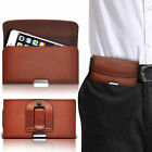Horizontal PU Leather Pouch Belt Clip Case For Nokia X2-02