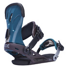 2017 NIB WOMENS RIDE VXN SNOWBOARD BINDINGS $210 S Multi blue aluminum freestyle