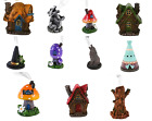 Incense Cone Burners FREE Incense Cones, Fairy,Toadstool,Wolf,Dragon,Witch - NEW