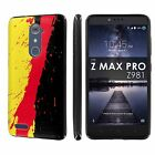 For ZTE [ZMAX PRO] [Carry Z981] [Blade X Max]  [Slim Cover Case] Design [G]