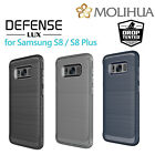 Hybrid Shockproof Carbon Fiber Armor Kickstand Case For Samsung Galaxy S8/S8 +