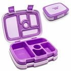 Lunch Boxes For Kids 5 Compartments Leakproof School Food Box Bento Containers
