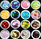 31 COLOURS - 100 Large Round 25MM Loose Sequin Flat Sewing Trim Costume BU1195
