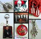 VAMPIRE ZOMBIE GORE HORROR FILM SKELETON SKULL NECKLACE EARRINGS KEYRING