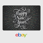 Kyпить eBay Digital Gift Card - Happy New Year - Via Email Delivery на еВаy.соm