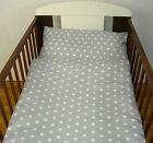 2 Pcs Baby Nursery Bedding Set DUVET COVER+PILLOW CASE 150x120cm fit Toddler Bed