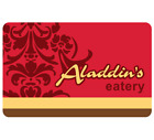 Aladdin's Eatery Gift Card - $25 $50 or $100 - Fast email delivery