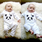 Newborn Baby Boy Girl Cotton Long Romper Jumpsuit Bodysuit Clothes Outfits 0-18M