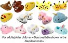 Emoji Poop Unicorn Duck Ugly Feet Shark Pikachu Slippers Christmas Girls boys