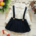 NEW Baby Girl Sailor Dress Navy Nautical Top Lace New-born to 18 months  UK