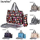 New Multifunctional Baby Diaper Mummy Mommy Changing Bag Waterproof Nappy Bag