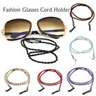 Strong Braided Leather Sunglasses Spectacle Glasses Neck Cord Strap Holder