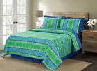 Vita Good Life 3pc Printed Reversible Quilt Set image