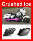 "Crushed Ice Pearl 4.5"" Stretch Extend Saddlebag fit 14-17 Harley Touring Street"