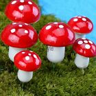 Mushroom Miniature Garden Ornament DIY Craft Pot Fairy Dollhouse Decor TINX