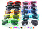Childrens Kids Boys Sunglasses UV400 UVA UVB Sun Protection Cool Summer Shades