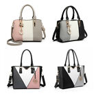 Women Designer PU Leather  Shoulder Tote Large Handbag Laptop Bag Ladies