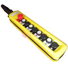 2 Speed Control Hoist 8 Pushbuttons Pendant Control Station With Emergency Stop