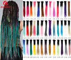 5 Strands 24'' Ombre Dreadlocks Synthetic Twist Dreads Afro Braid Hair Extension