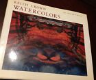 Keith Crown Watercolors, Reich 1986, abstract art, American, hardcover monograph