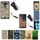 For LG V20 (5.7-inch) 2016 BLACK Dual Layer Hybrid Rugged Armor Cover Case