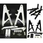Rearsets Footrests Foot Rest Pegs Pedal Rear Set Fit HONDA RS125 GP125 RS 125 GP