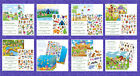 STICKER SCENES  STICKERS YOUR CHOICE  2.60 ships 1st- REST SHIP FREE W/CART