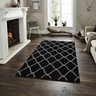 Think Rugs Elements EL65 Black Wool Rugs