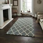 Think Rugs Elements EL65 Blue Wool Rugs