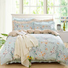 Flower Doona Duvet Cover Set Single Queen King Size Bed Quilt Covers Floral New