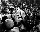 Babe Ruth Story Movie Scene in Black and White High Quality Photo