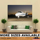 A Wall Art Canvas Picture Print - Private Jet 3.2