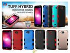 LG X Power 2 Fiesta Impact TUFF Hybrid Rubber Rugged Shockproof Case Cover +Kit