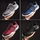Mens Running Sports Lace up Shoes Casual Breathable Athletic Gym Sneakers UK 6-9