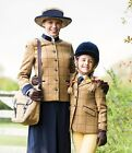 Equetech Childs Wheatley Deluxe Tweed Riding Jacket
